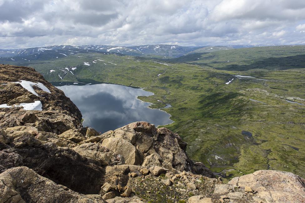 Utsikt fra Raudberg